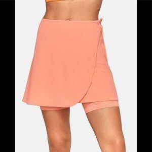 Tissue Weave Wrap Skirt
